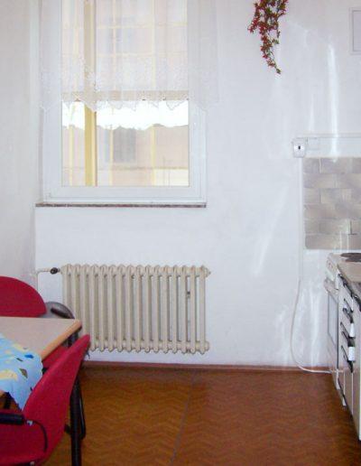 kuchyně ubytovna Koněvova